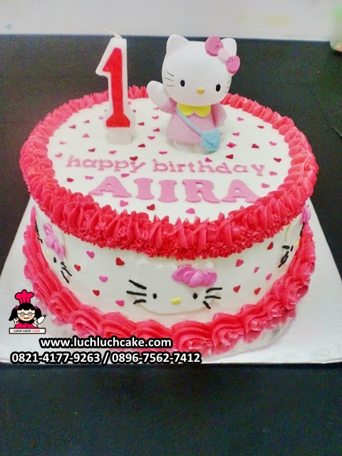 Kue Tart Hello Kitty Untuk Ulang Tahun Anak