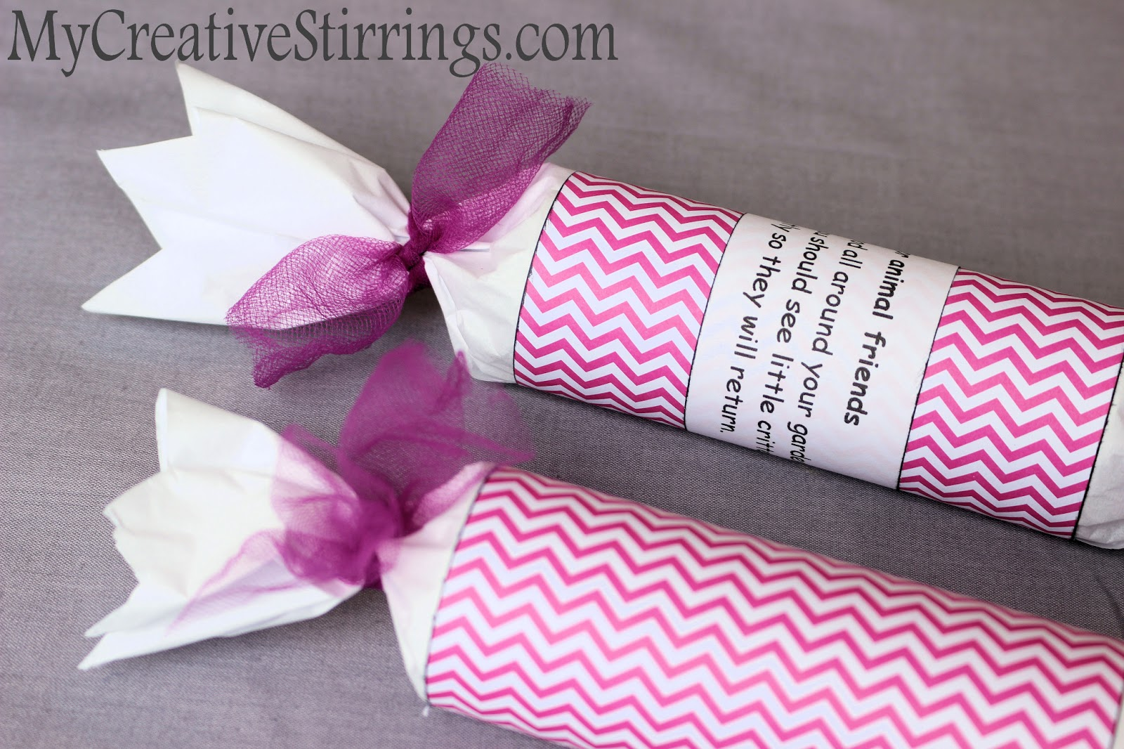 My Creative Stirrings: Flower Party- Party Favor