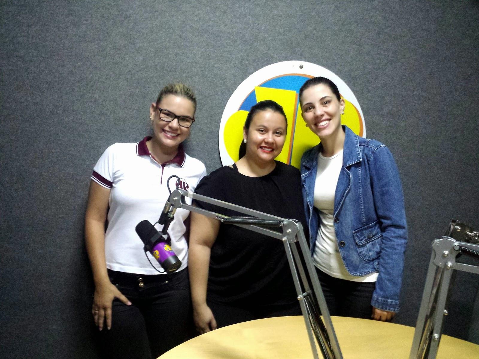 Entrevista - Hélida Reis fala sobre Comportamento Infantil na Jovem Pan Patos 1