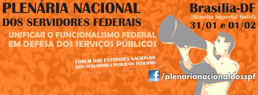 Plenária Nacional dos Servidores Federais