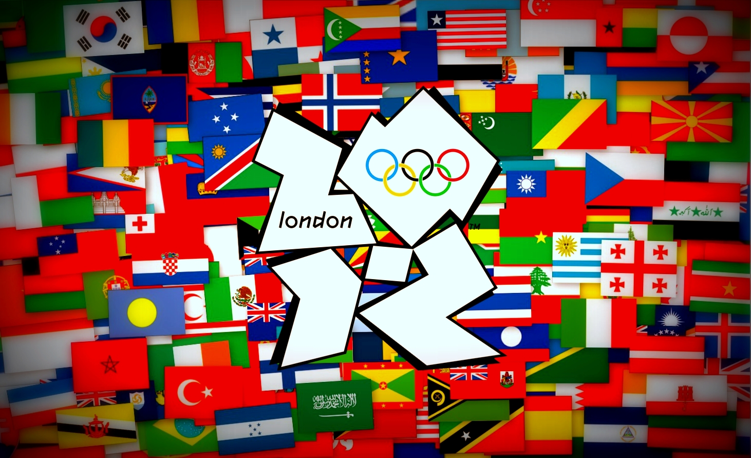 London olympics 2012 logo wallpaper hd olympics game games