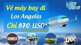 Vé máy bay đi Los Angeles hãng Korean Air
