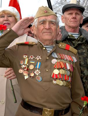 Фото Укринформ:одесский ветеран