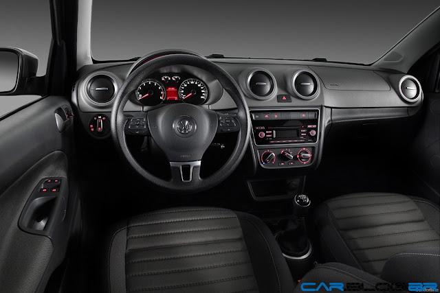 Novo Gol G6 2013 - interior - painel