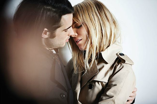 BURBERRY SIENA MILLER AND TOM STURRIDGE