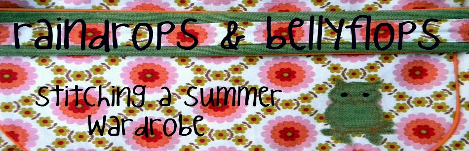 Sew&amp;Craft-Raindrops &amp; Bellyflops