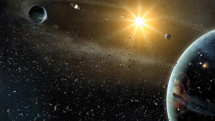 Orbita inexplicable en el sistema solar