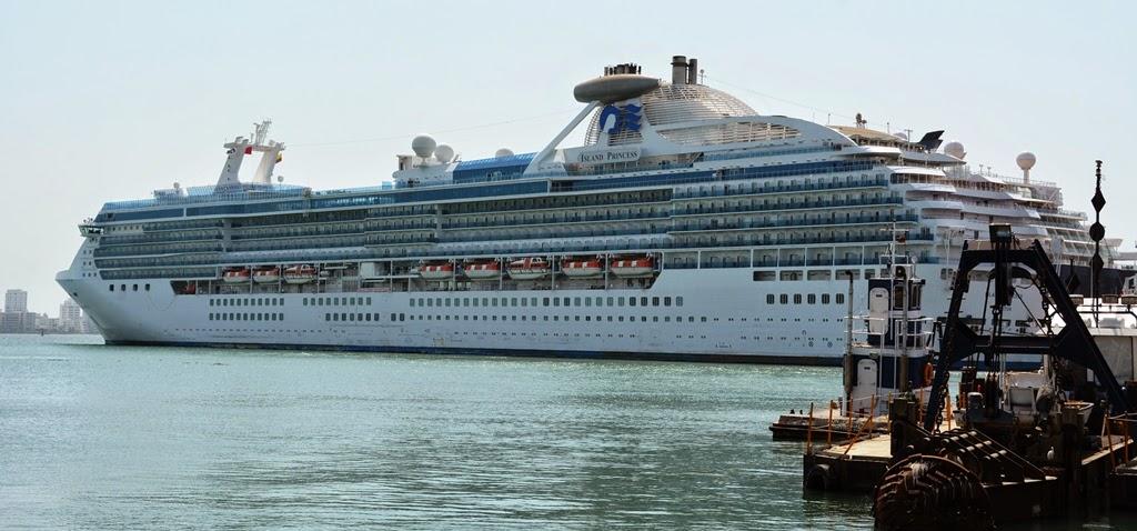 Port of Cartagena des Indes Island Princess