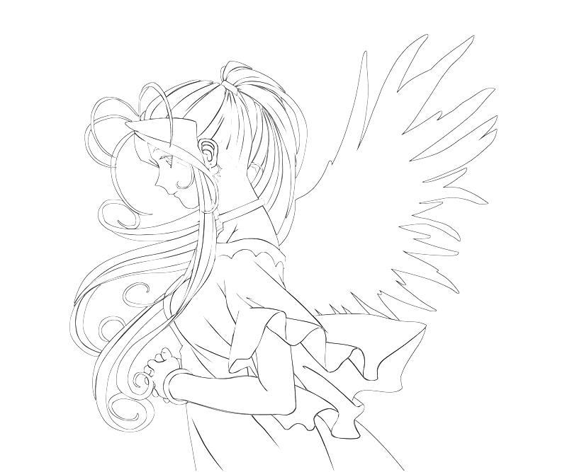 printable-belldandy-beautiful-coloring-pages