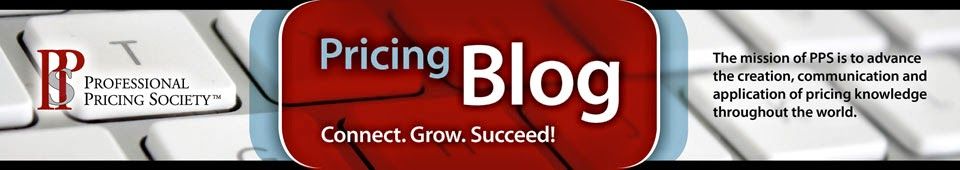 Pricing Blog from the Professional Pricing Society