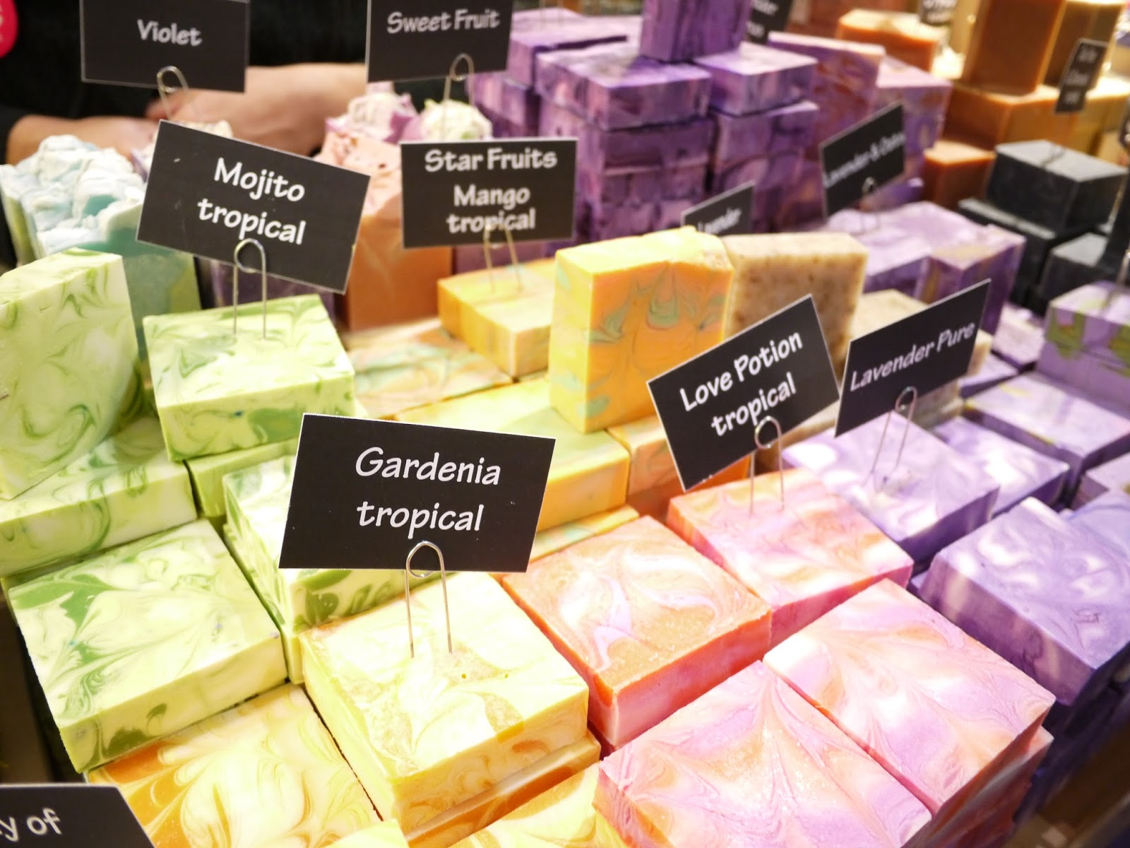 botania soaps