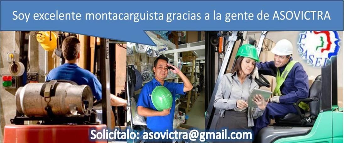 CURSO OPERACIÓN DE MONTACARGAS Certificación al 02123451619