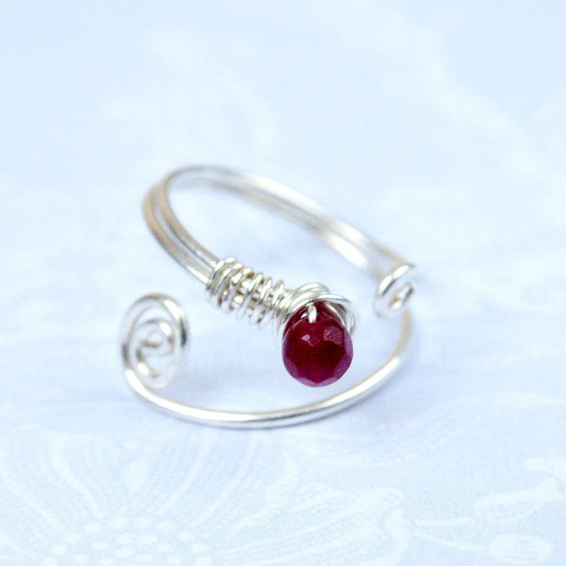 how to make a silver ring from wire