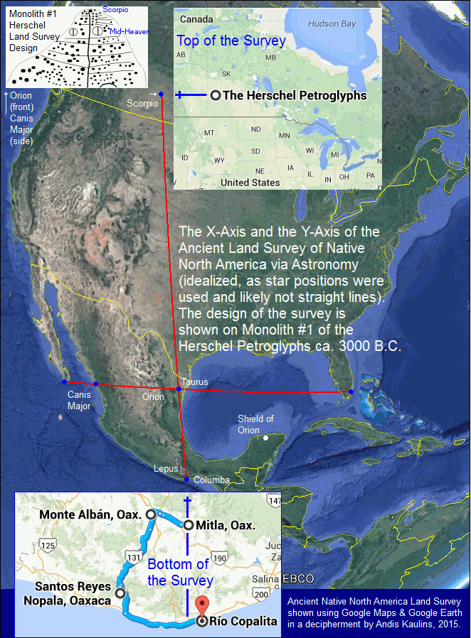 Ancient world blog the top of the native north america land survey ancient world blog the top of the native north america land survey line the y axis from herschel and stranraer saskatchewan sk canada to ancient gumiabroncs Choice Image