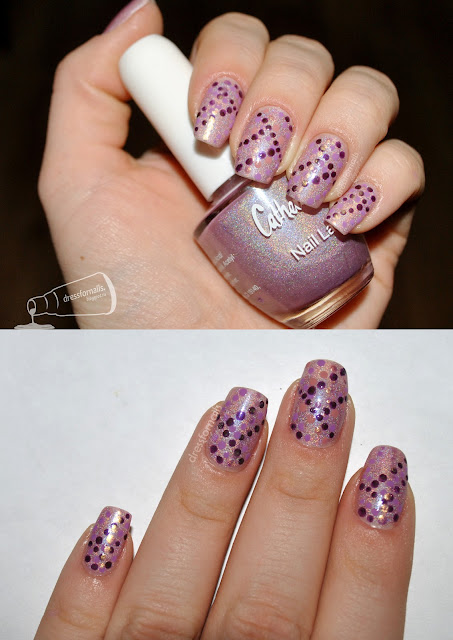 Nail Art with Dots