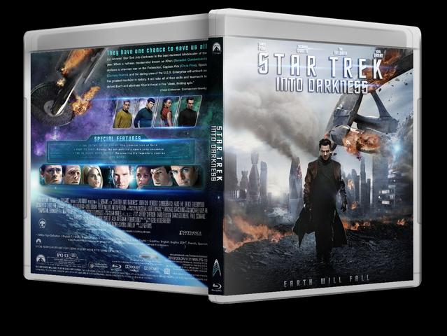 Capa Bluray Star Trek Into Darkness
