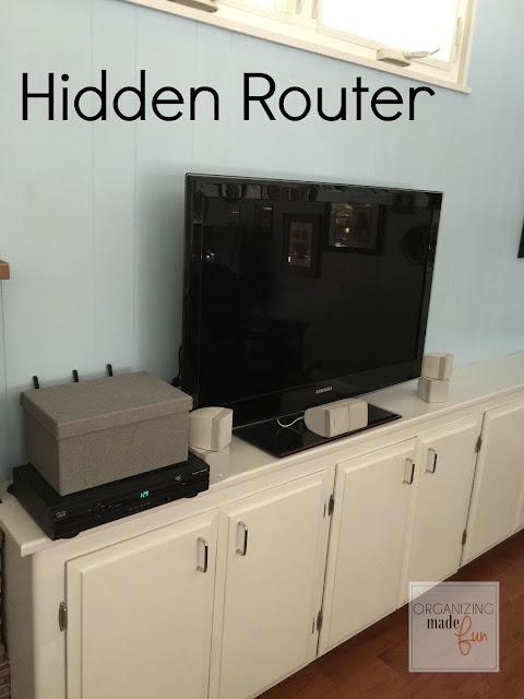 Hidden router :: OrganizingMadeFun.com
