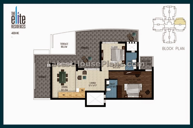3150 Sft 4 Bhk Duplex Penthouse Floor Plans In Mumbai: 5 bhk duplex floor plan