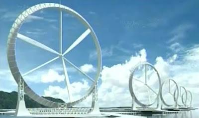 wind lens turbine