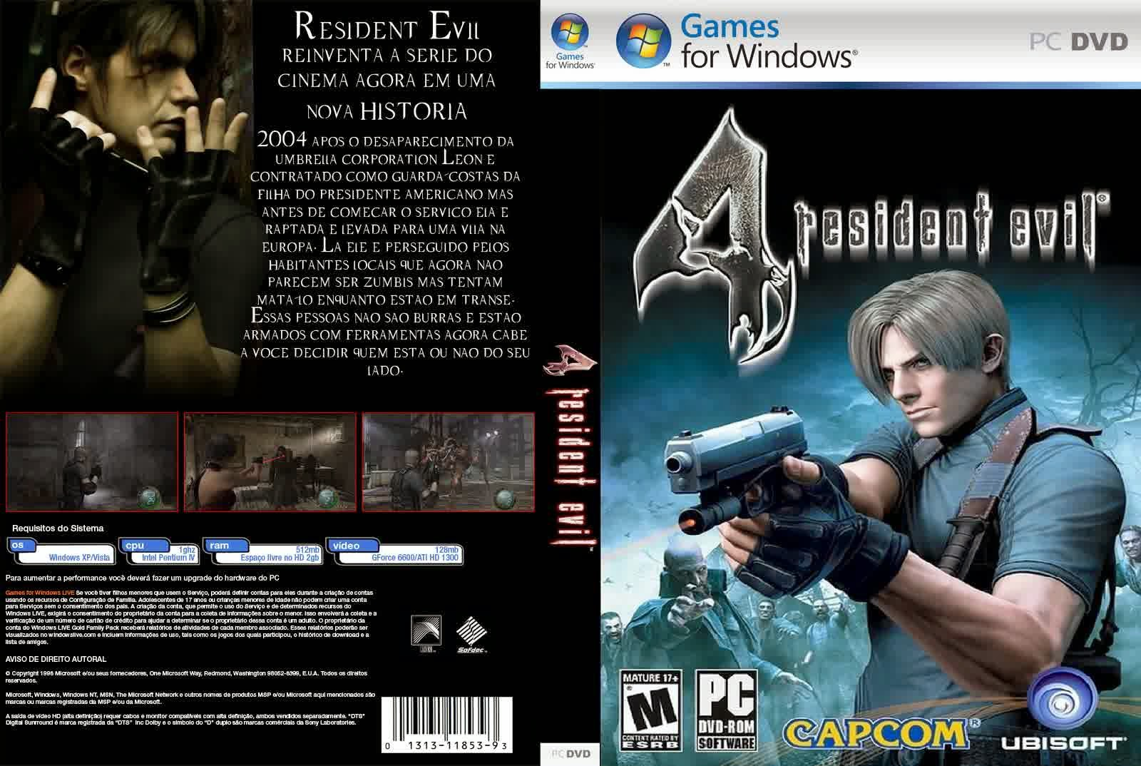 Download Resident Evil 4 PC Full Version [5 Parts]
