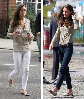 Kate Middleton Casual
