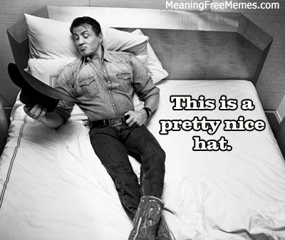 Stallone Cowboy Hat