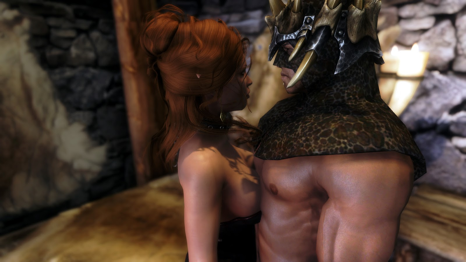 Skyrim sex scene nsfw video
