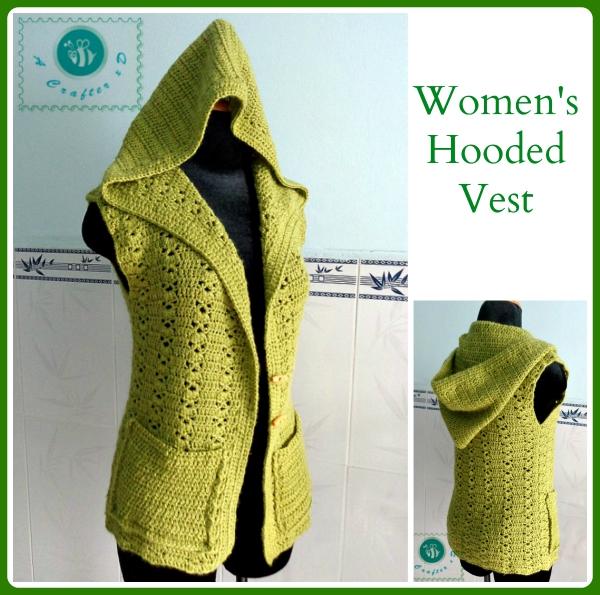 Women's Hooded Vest