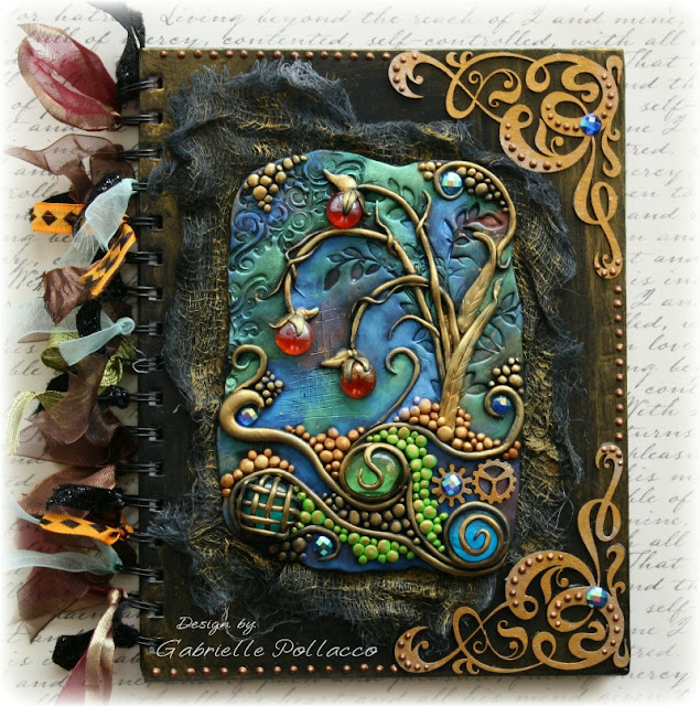 Book Cover Watercolor Mixing : Such a pretty mess mixed media dusty attic journal cover