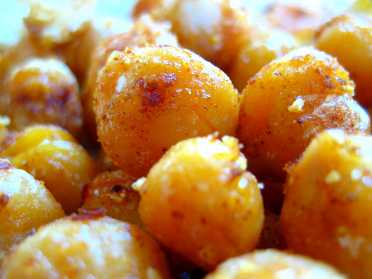 Cook Food. Mostly Plants.: Fried Chickpeas