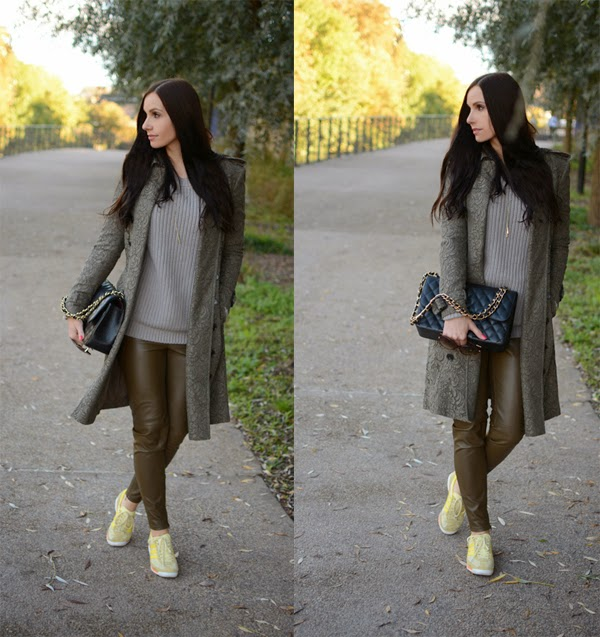 Outfit_Leather_Pants_Burberry_TrenchCoat_Chanel