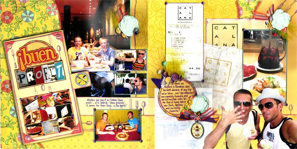 Scrapbook t h a remembering restaurants loadofscrap
