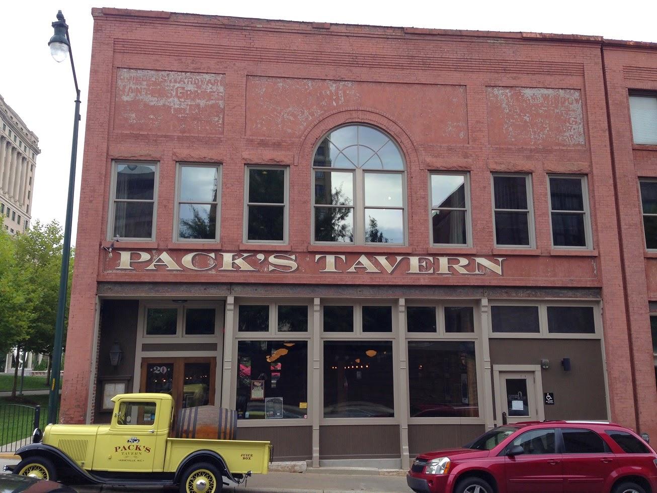 Ghost sign, Asheville, North Carolina, USA