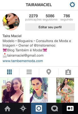 Encontre-nos no Instagram