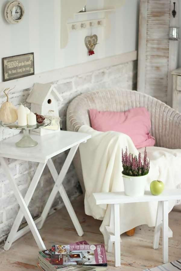 Rincones con encanto en colores pastel oasisingular for Rincones de jardines con encanto