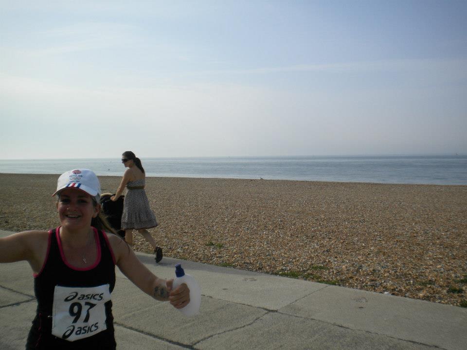 Seaford South Coast Run half marathon tess langley