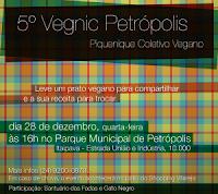 5º Vegnic Petrópolis – Piquenique Coletivo Vegano