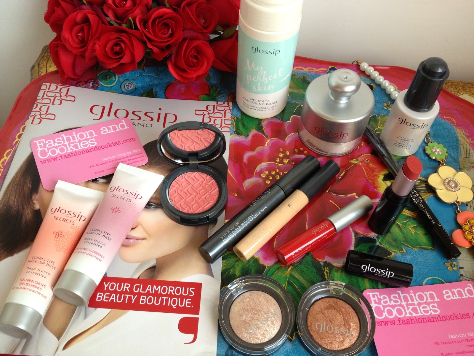 Glossip Milano make-up haul, Glossip haul, italian brand, trucco, beauty, Fashion and Cookies fashion blog