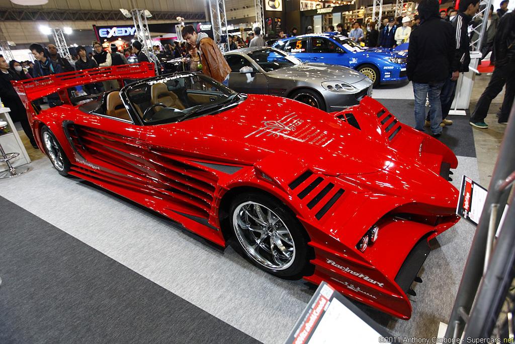 DragStar F1 Dragon, Toyota MR2, MR-S, koncept, prototyp, wariacja, szalony, design, targi, Japonia, JDM