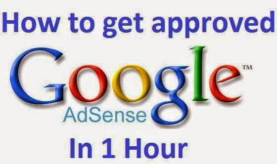 how to get approved google adsense account in one hour - techseotricks