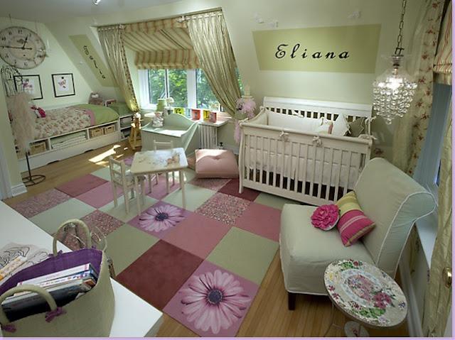 ini dia 9 desain cantik untuk kamar tidur anak perempuan