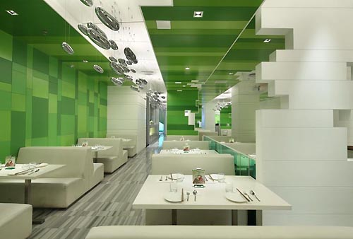 In design magz wonderful green interior for modern