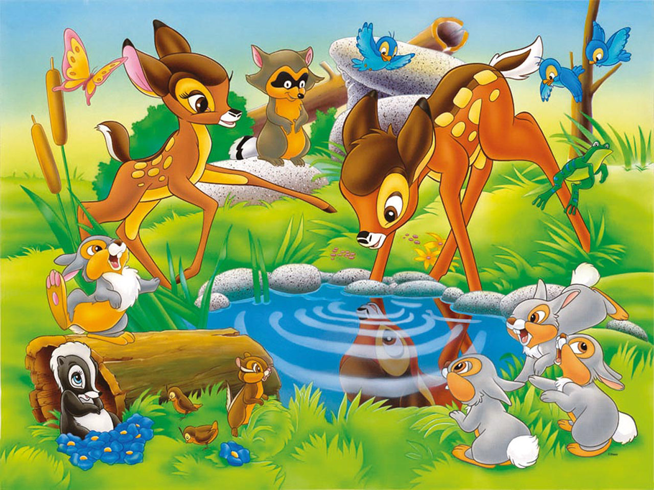 Bambi Picture to Download Freely | Kids Online World Blog