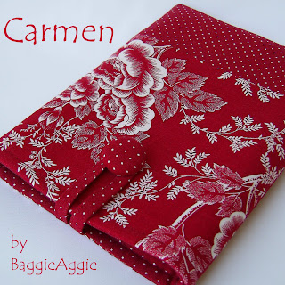 Beautiful red Kindle case handmade in Britain with gorgeous fabrics in polka dots and contemporary floral designs.