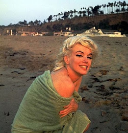 Marilyn Santa Monica Beach 1962