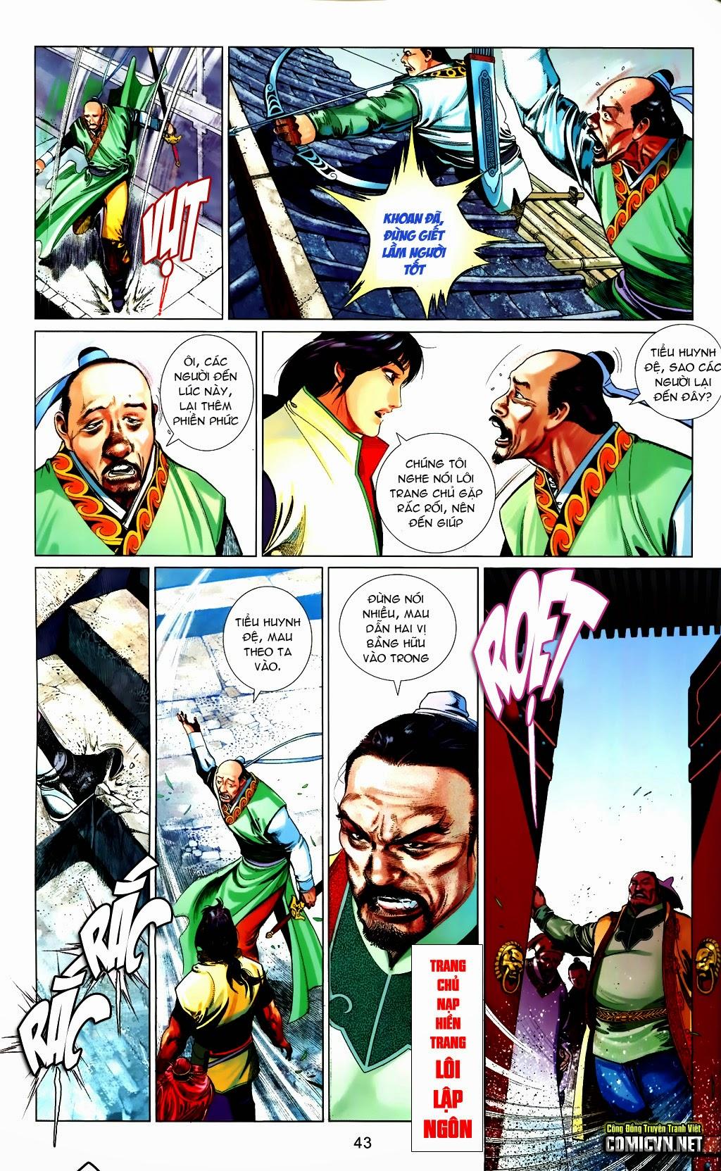Phong Vân Chap 663 - Trang 43