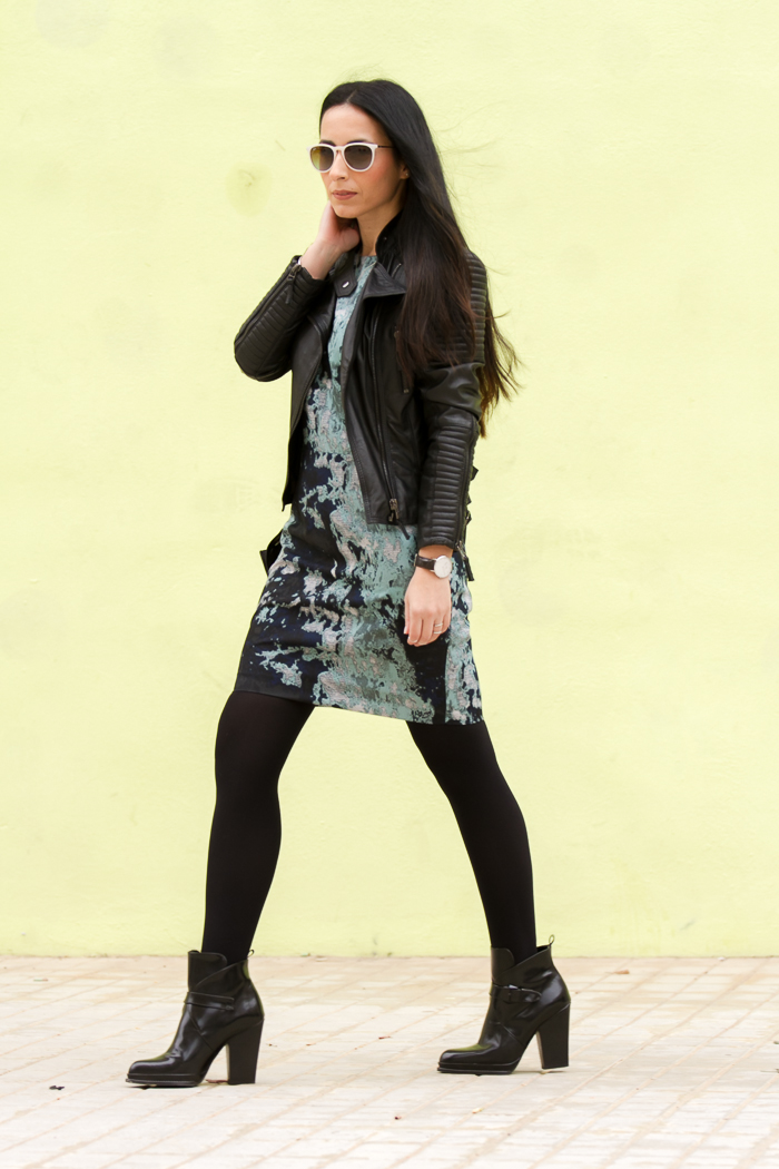 estilo chic lady rock blogger valenciana