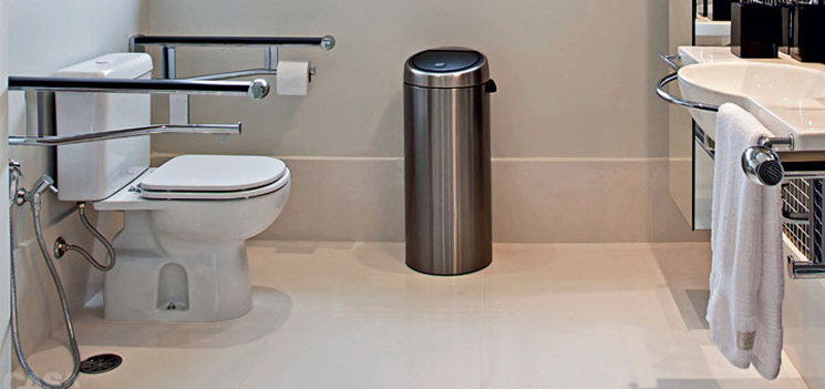 Barras de apoio no banheiro ~ Dicas de saúde CFca -> Banheiros Simples Para Idosos
