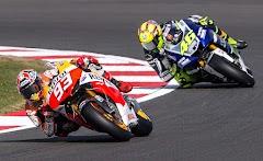 Insiden MotoGP 2015 Sepang Rossi dan Marquez