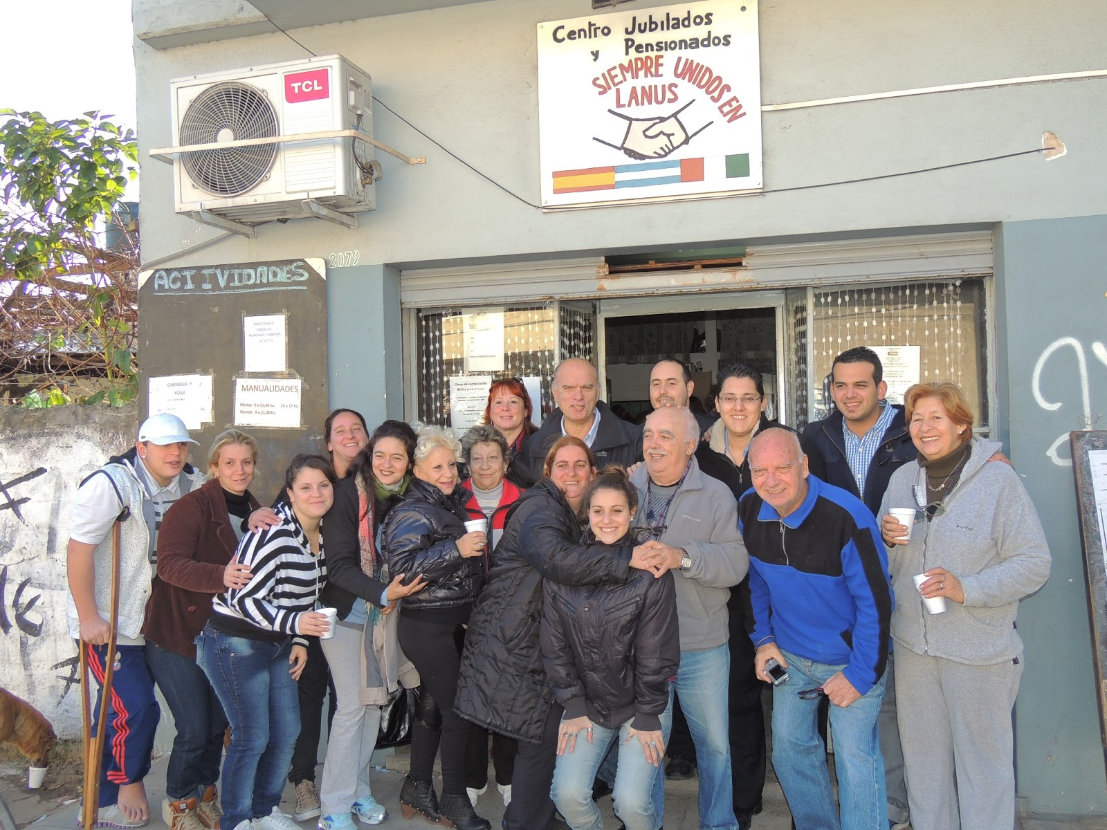 Gustavo alvarez sitio oficial visita a centro de for Villa jardin lanus oeste